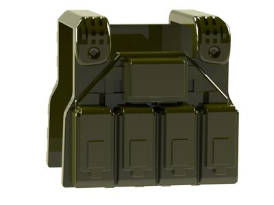 CombatBrick Special Forces Plate Carrier Vest Military Green