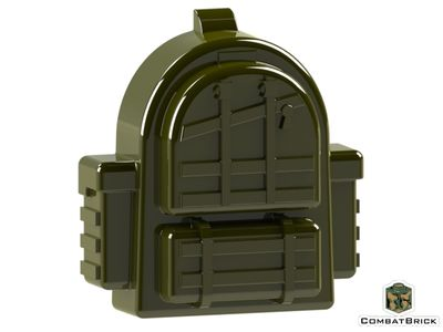CombatBrick Tactical Backpack Military Green
