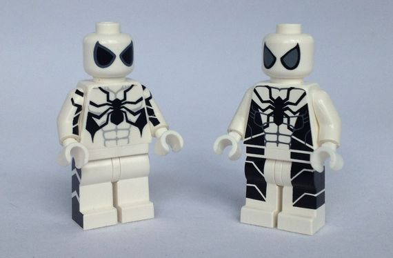 Spider Man Future Foundation Custom Minifigure Comparison Review