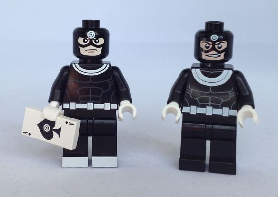 Bullseye Custom Minifigure Comparison Review