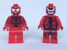Carnage Custom Minifigure Comparison Review