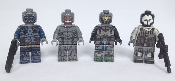 BrickUltra Custom Minifigures