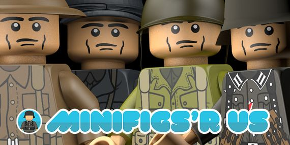 MinifigsRUs German Custom Torso's