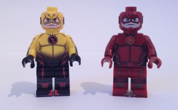 Fig Factory - Flash Custom Minifigures
