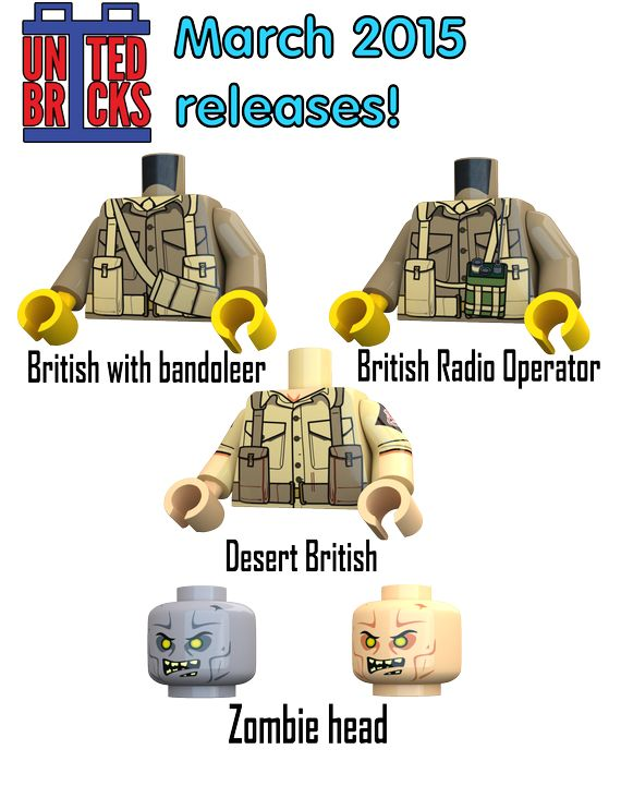 United Bricks New Releases