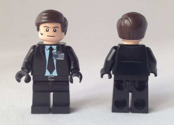Agent Coulson Custom Minifigure