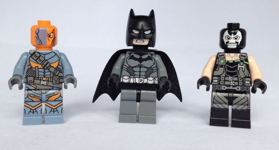 Fig Nation Arkham Origins Custom Minifigures