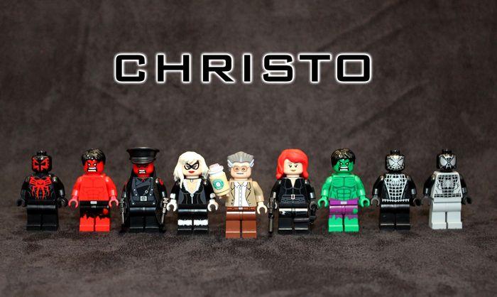 Christo Custom Minifigures