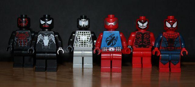 Spider-Man Custom Minifigures