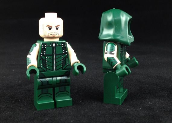 The Archer Custom Minifigure Side Photograph