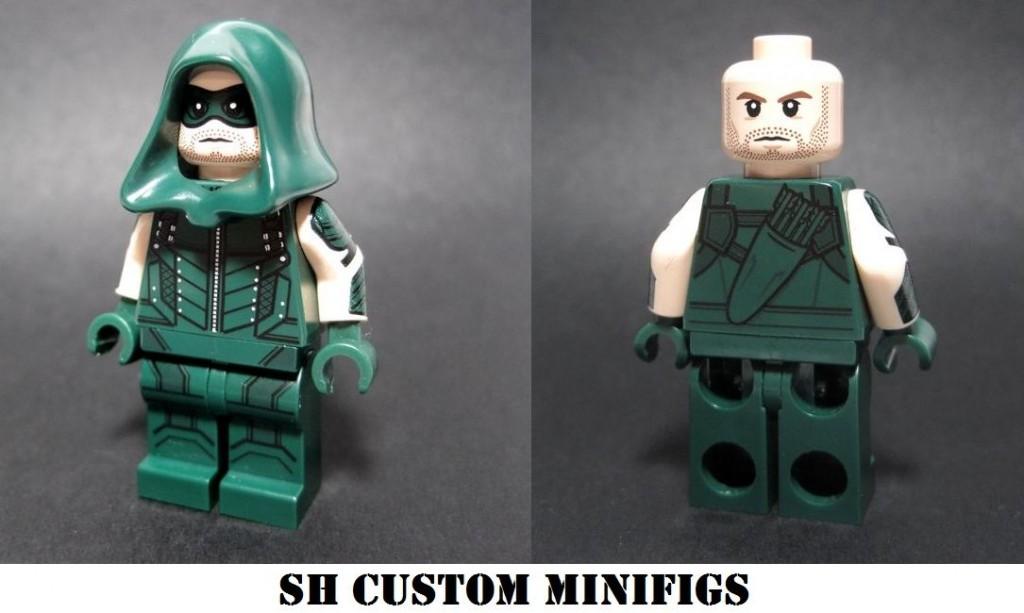 The Archer Custom Minifigure by SH Custom Minifigs