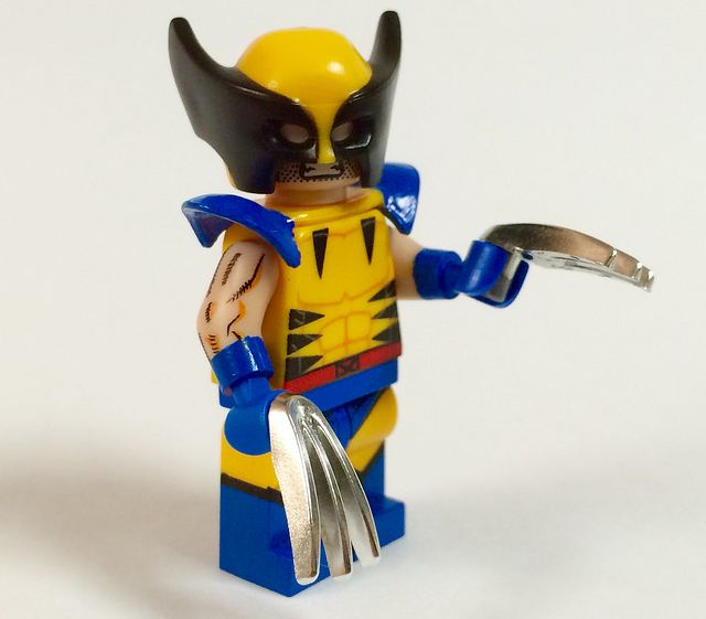 Chrome Claw KO Custom Minifigs