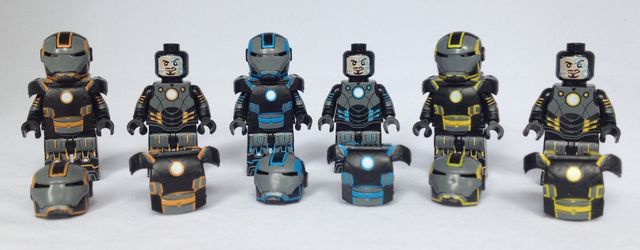 Grid Iron EclipseGrafx Custom Minifigures