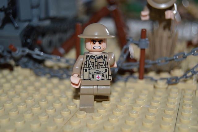 United Bricks Military Custom Minifigures