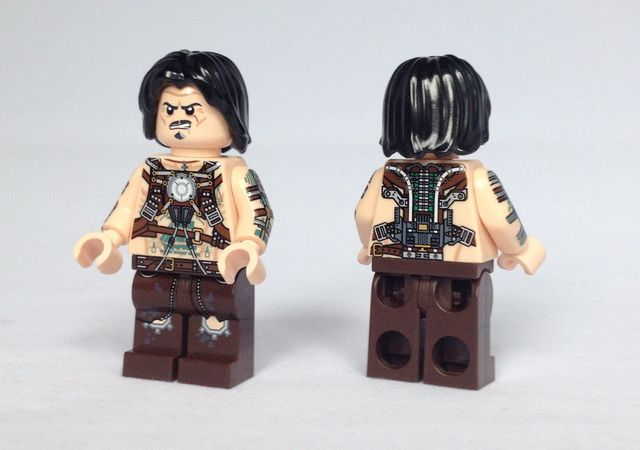 Whiplash Christo Custom Minifigure
