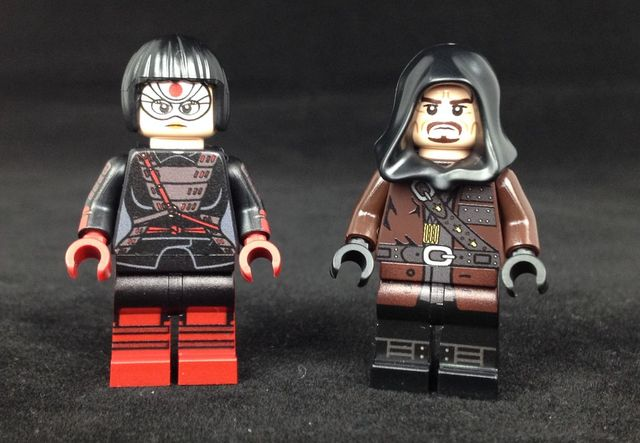 Onlinesailin Arrow Custom minifigures