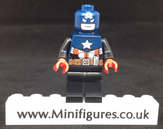 LeYiLeBrick Captain America NYCC Custom Minifigure
