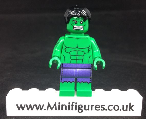Green Hulk LeYiLeBrick Custom Minifigure