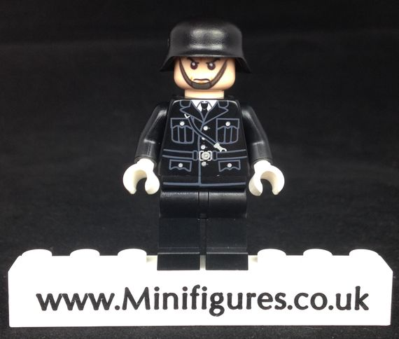 WW2 SS Soldier LeYiLeBrick Custom Minifigure