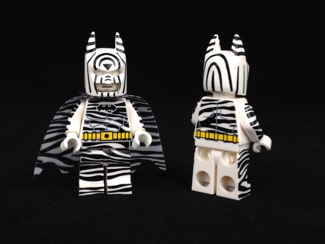 Christo Zebra Batman Custom Minifigure