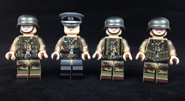 The Minifig Co Fallschirmjager Soldiers