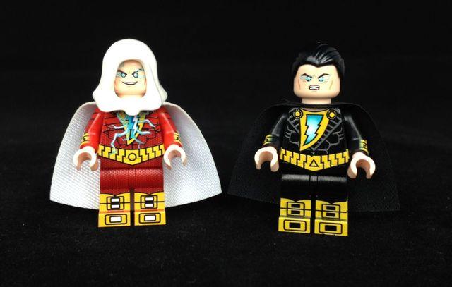 Shazam & Black Adam LeYiLeBrick Custom Minifigures