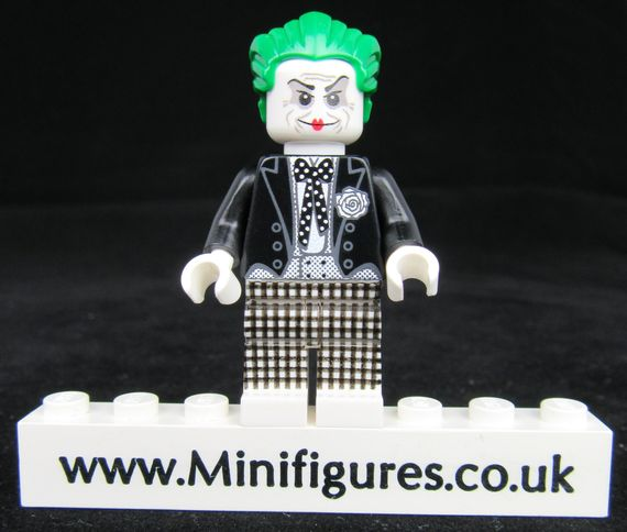 Mime Prince of Crime Custom Minifigure