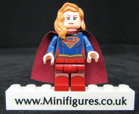 Superb Lass Custom Minifigure