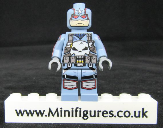 Captain Punisher Engineerio Custom Minifigure