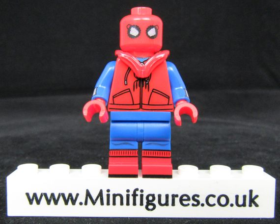 Spiderman Homemade Suit LeYiLeBrick Custom Minifigure