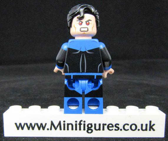 Superman Blue Lantern LeYiLeBrick Custom Minifigure