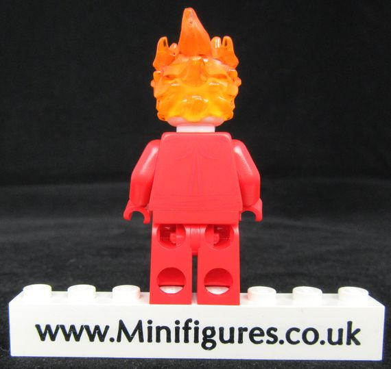 Blazing Skull Custom Minifigure