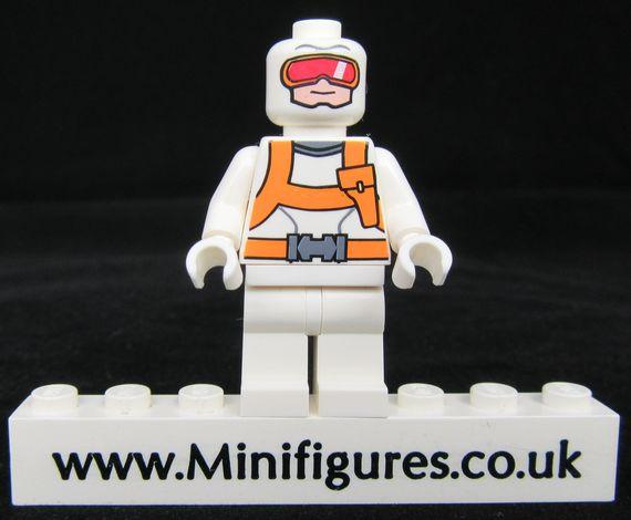 Heat Wave Custom Minifigure