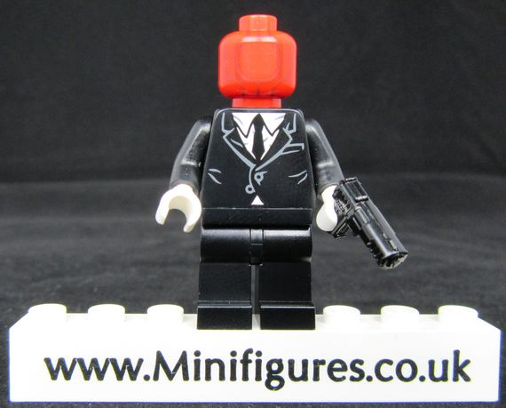 Red Hood Henchman Custom Minifigure