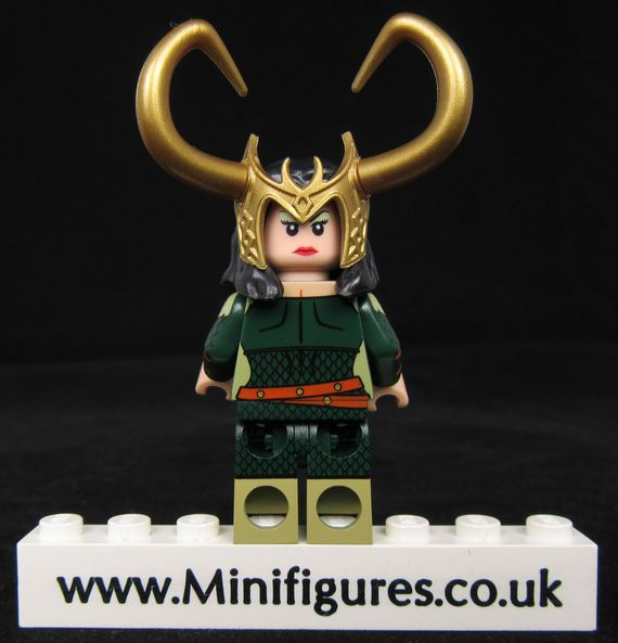 Devlish Dame Custom Minifigure