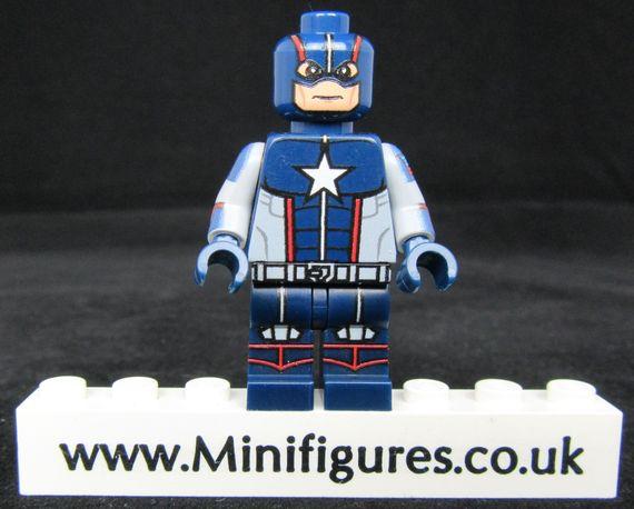 Cap America Secret War LeYiLeBrick Custom Minifigure
