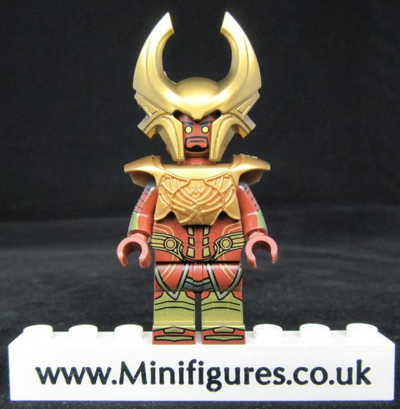 Golden Sentry BrothersFigure Custom Minifigure