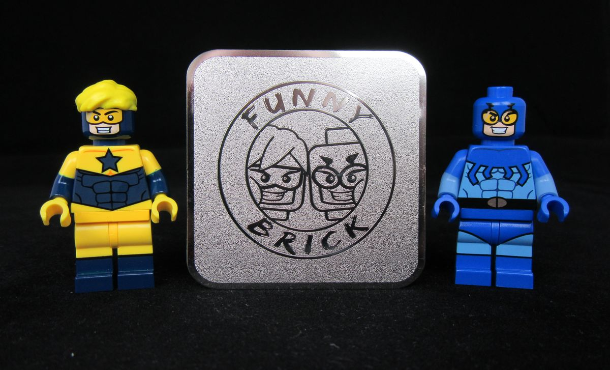 Booster Gold & Blue Beetle Custom Minifigures