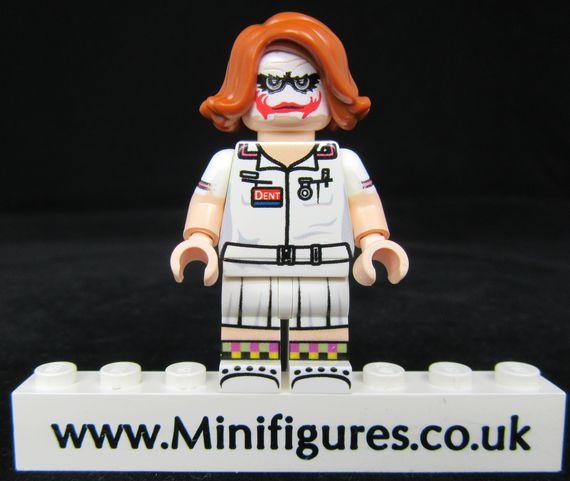 Joker Nurse LeYiLeBrick Custom Minifigure