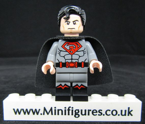 Red Son Superman LeYiLeBrick Custom Minifigure