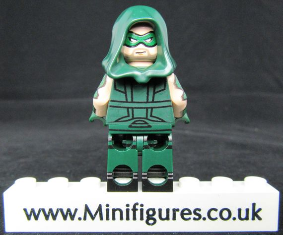 Green Arrow V2 LeYiLeBrick Custom Minifigure