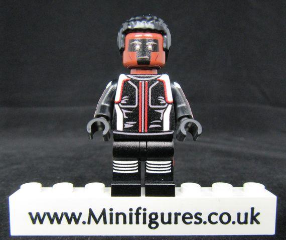 Mister Terrific V2 LeYiLeBrick Custom Minifigure