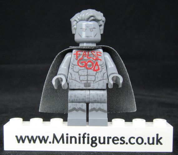 Superman Statue LeYiLeBrick Custom Minifigure