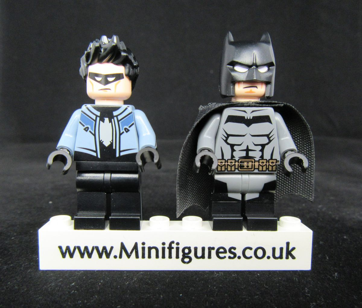 Darknight & Bluewing Funny Brick Custom Minifigures