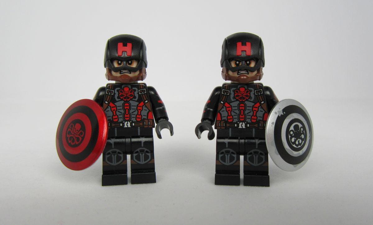 Hydra Cap Dragon Brick Custom Minifigure