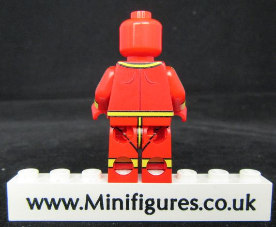Red Tornado LeYiLeBrick Custom Minifigure