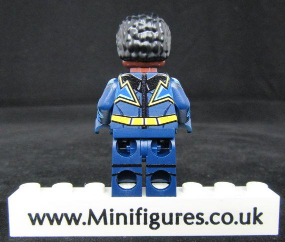 Black Lightning LeYiLeBrick Custom Minifigure