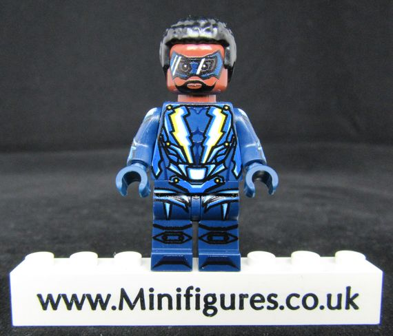 Black Lightning LeYiLeBrick Custom Minifigure