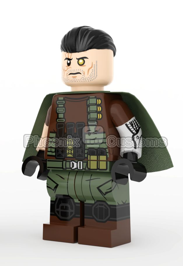 Cyborg Custom Minifigure
