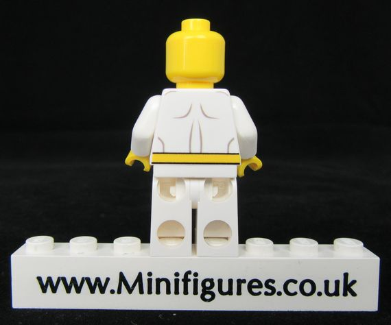Iron Fist White LeYiLeBrick Custom Minifigure